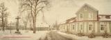Retro foto obec Kladruby nad Labem - Národní hřebčín, www.JaroslavSmekal.cz